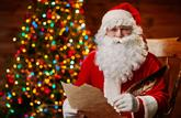 Les enfants peuvent envoyer leur liste au Père Noël, par lettre ou par courriel