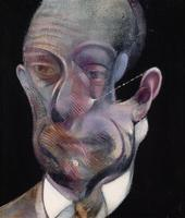 Study for Portrait (Michel Leiris),  Francis Bacon, 1978.