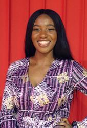 Réjane Moukoko est la présidente de l'association Human.