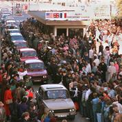Novembre 1989: gigantesques retrouvailles entre Berlinois de l'Est et de l'Ouest