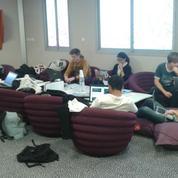 Etudiants: 48 heures pour développer trois projets collaboratifs