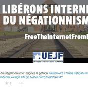 Une pétition pour demander le retrait des propos négationnistes sur Internet