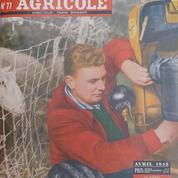 Visant le marché europeén, le Salon de l'agriculture se délocalise à Strasbourg en 1958