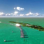 Une île 100% éco-responsable, le projet fou de Leonardo DiCaprio