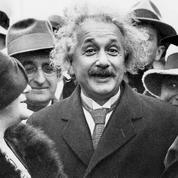 Albert Einstein en 1921: «On me reproche sans doute d'être juif, et d'introduire un esprit novateur»
