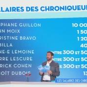 Attaqué sur son salaire, Stéphane Guillon se paie Cyril Hanouna