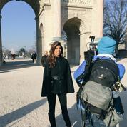 Iris Mittenaere (Miss France) se prépare pour Miss Univers