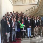 Les jeunes lauréats de l'équipe de France des métiers félicités par Myriam El Khomri