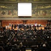 L'école d'ébénisterie La bonne graine a fêté ses 150 ans à la Sorbonne