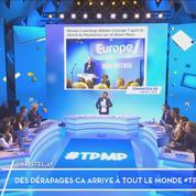 Sketch de Nicolas Canteloup sur Europe 1: Cyril Hanouna critique Thomas Sotto