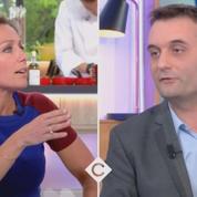Cà vous : nouvelles tensions entre Florian Philippot et Anne-Sophie Lapix