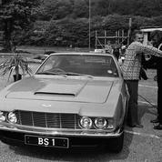 Du Saint à James Bond : les plus belles autos de Roger Moore