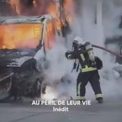 Dans le feu de l'action avec les pompiers de Paris