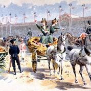 Le carnaval de Nice en 1879: chars, confettis, et bataille de fleurs