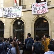 Sciences Po Paris est de nouveau bloquée par des étudiants