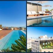 5 nouveaux hôtels à Barcelone avec piscine sur le toit