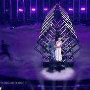 Eurovision 2018: la prestation du Royaume-Uni perturbée par un individu