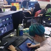 Aux Gobelins, les élèves préparent leurs films pour le festival d'Annecy