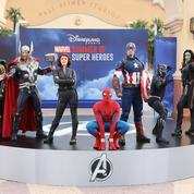 Sandrine Quétier, Michaël Youn... ils célèbrent l'été des Super Héros Marvel à Disneyland Paris