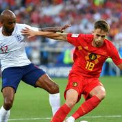 Audiences: 6,9 millions de téléspectateurs devant Angleterre/Belgique