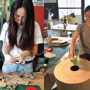 Deux étudiantes de l'UTC remportent le Dyson Award 2018 avec une poubelle intelligente