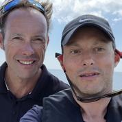 Marc-Olivier Fogiel en mer pour RTL