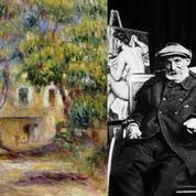 Un bouquet de fleurs achevé, Auguste Renoir mourut le 3 décembre 1919
