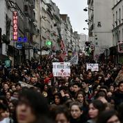 Plusieurs milliers de lycéens dans les rues à Paris