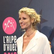 Alexandra Lamy, présidente à l'Alpe d'Huez