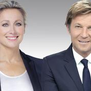 Anne-Sophie Lapix et Laurent Delahousse vont fêter les 70 ans du JT sur France 2