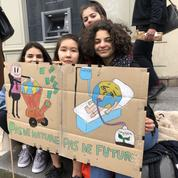Climat: notre sélection des meilleures pancartes de la mobilisation à Paris