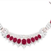«Trésor de rubis», l'improbable collection de Van Cleef & Arpels