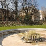 Les fontaines des Champs-Élysées: macramé de plomberie
