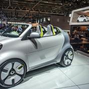 Daimler arrête la production de la Smart en France