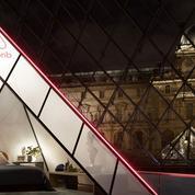Une nuit dans la pyramide du Louvre avec Airbnb