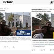 The Guardian indique sur les réseaux sociaux l'année de publication de ses anciens articles