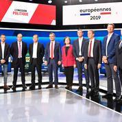 Européennes: le débat sur France 2 très peu suivi