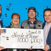 Un couple retrouve in extremis un ticket de loto valant un million de dollars canadiens