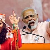 Des stars de la chanson hindoue en campagne derrière Modi