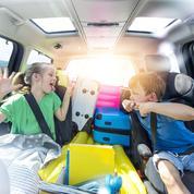 Les enfants en voiture, calvaire de l'automobiliste
