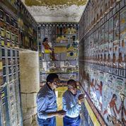 Égypte: la tombe d'un dignitaire datant de plus de 4400 ans découverte à Saqqara