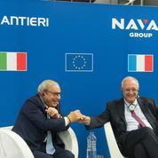 Naval militaire: l'alliance franco-italienne franchit une première étape
