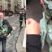 Notre-Dame: le coq de la flèche retrouvé parmi les décombres