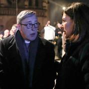 MonseigneurChauvet: «En entrant dans la cathédrale, on s'est donné la main avec le président»