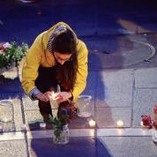 Notre-Dame d'espérance lors d'une veillée de prière