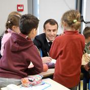 Macron veut limiter le nombre d'élèves dans les classes de maternelle, CP et CE1