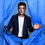 Victorieux à la présidentielle ukrainienne, l'humoriste Zelensky prépare sa mue