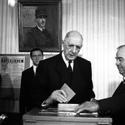 Il y a cinquante ans, les Français disaient «non» au général de Gaulle