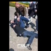 Au meeting de Marine Le Pen, altercation entre le service d'ordre et des étudiants juifs