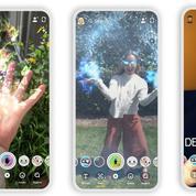 Sur Instagram et sur Snapchat, le marché en plein boom du filtre à selfie